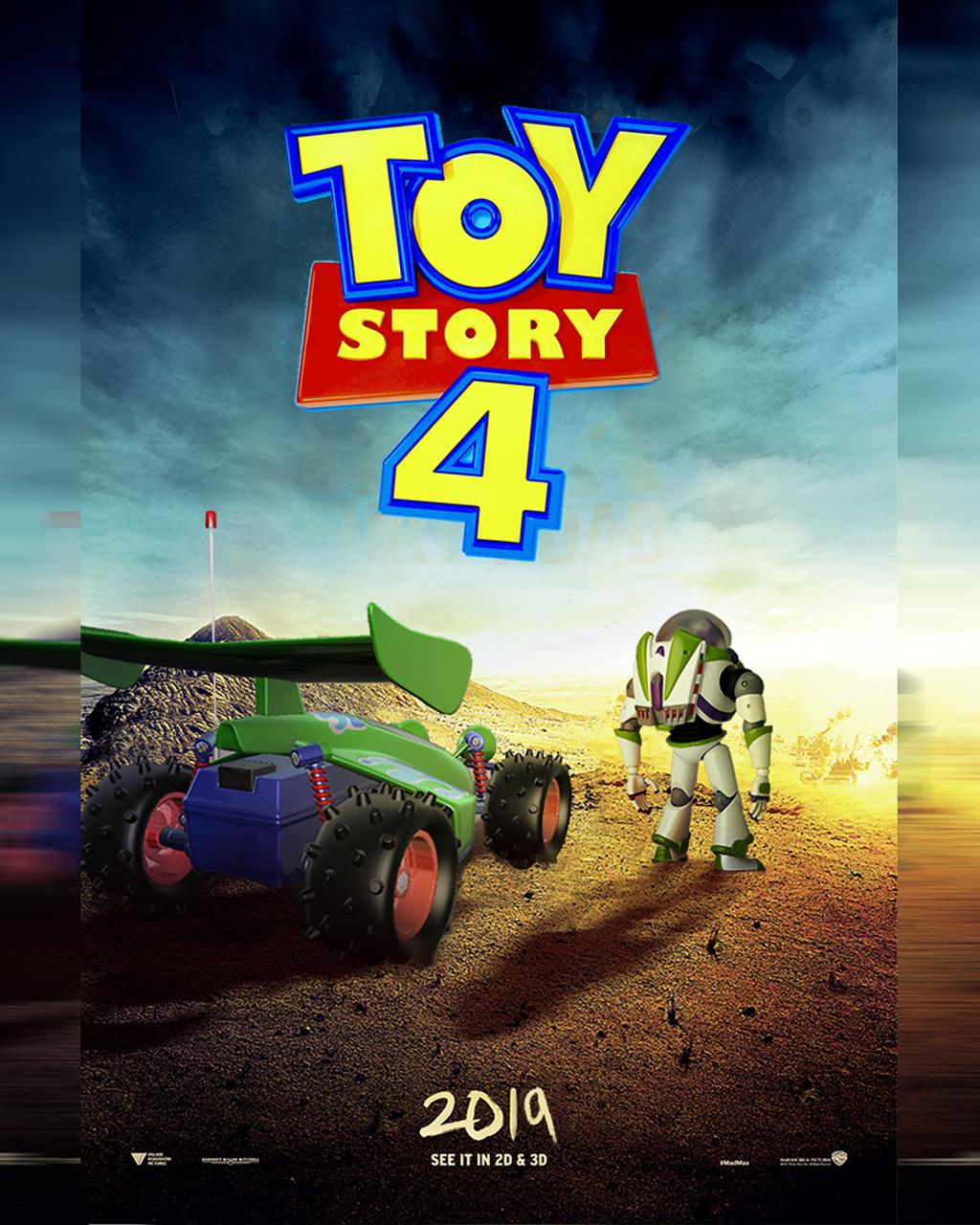 Resultado de imagen para toy story 4 poster