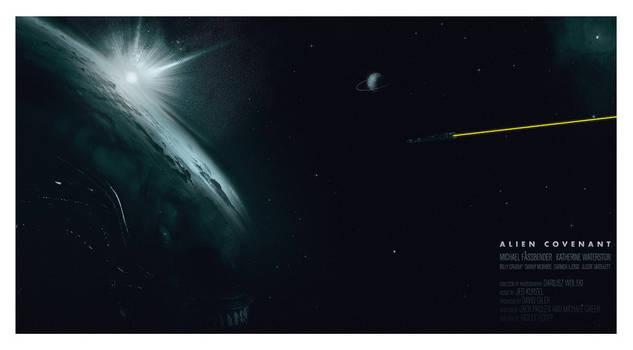 Alien Covenant Poster by MessyPandas