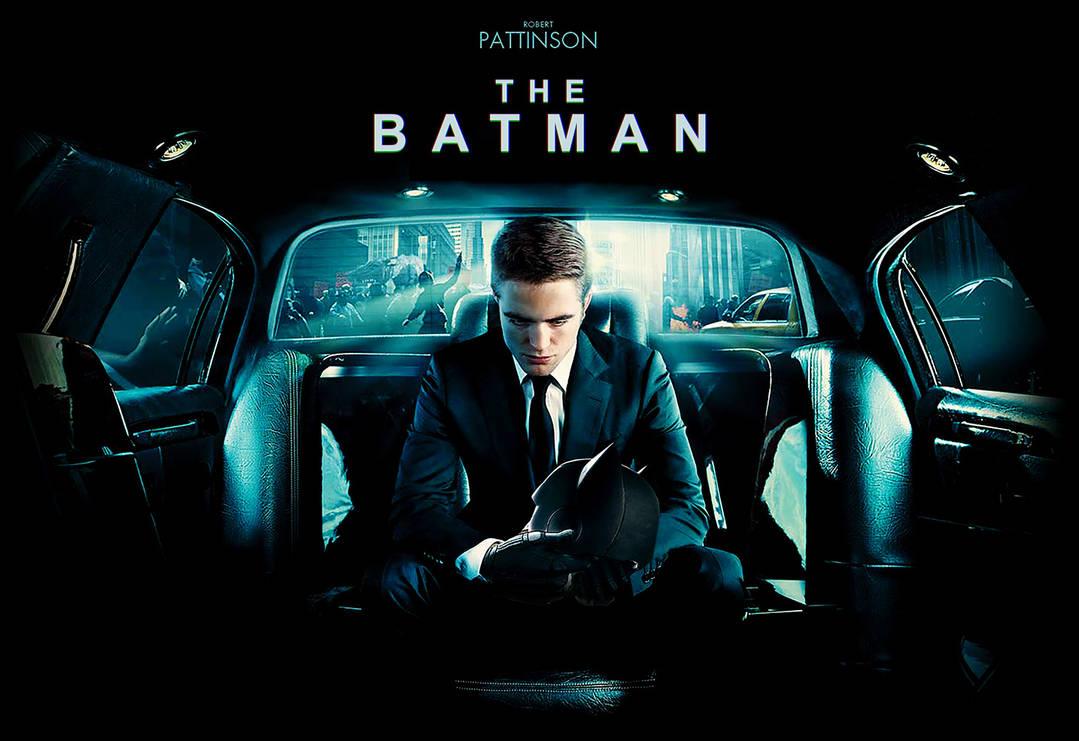 The Batman (Robert Pattison) by MessyPandas
