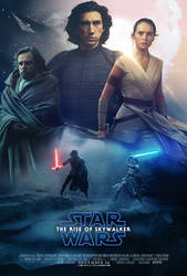 The Rise of Skywalker Poster by MessyPandas