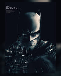The Batman (Robert Pattison) by MessyPandas