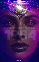 Wonder Woman 84 Poster by MessyPandas