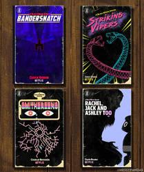 Black Mirror Season 5 Book Covers