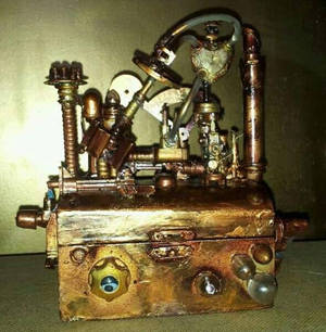Steam Punk Jewellery Box.