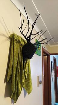 New Sculpture : ' Deer Man.'