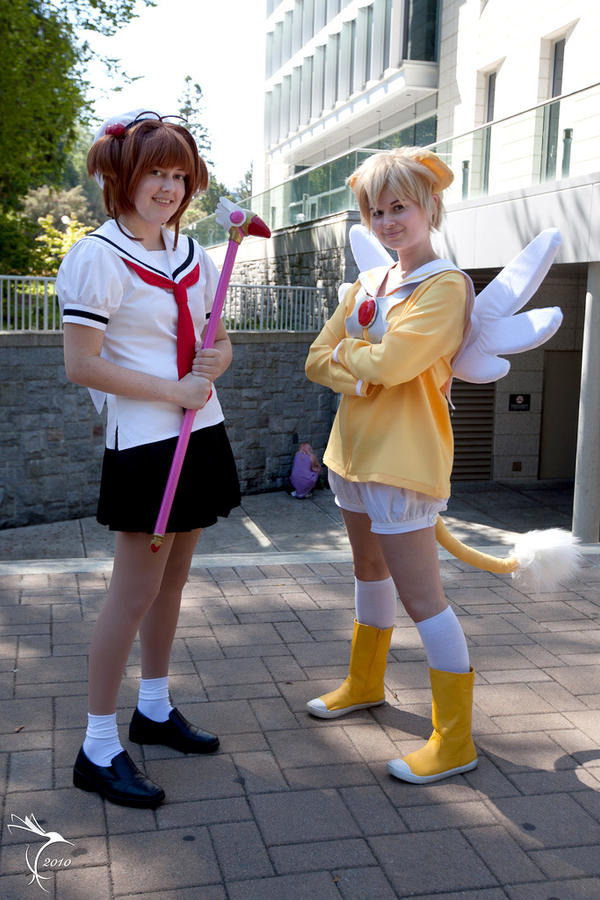 Cardcaptor and her Guardian by RainOwls