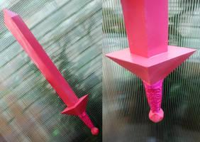 Fionna's Crystal Sword by RainOwls