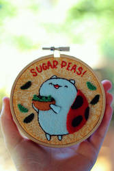 Sugar Peas! by RainOwls
