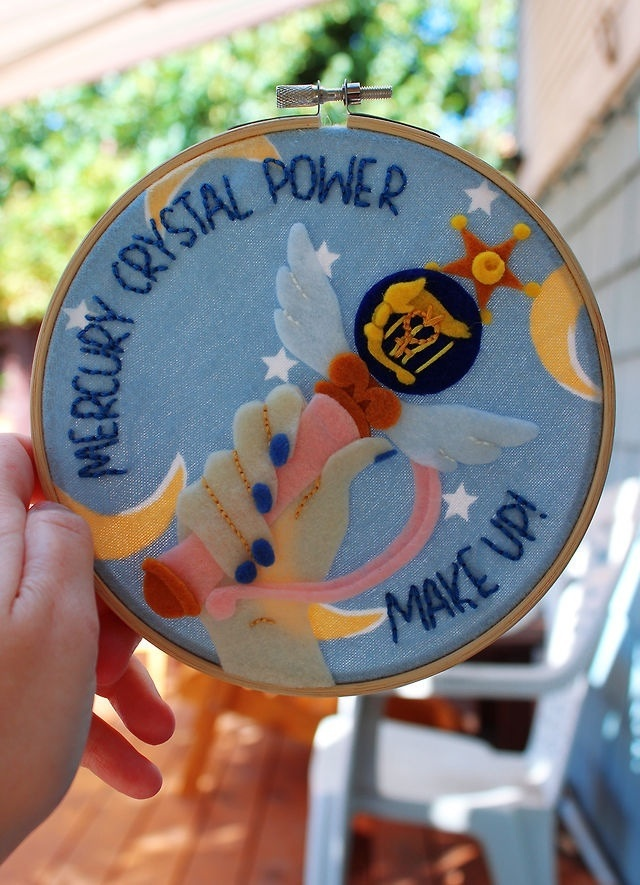 Mercury Crystal Power, Make Up! by RainOwls