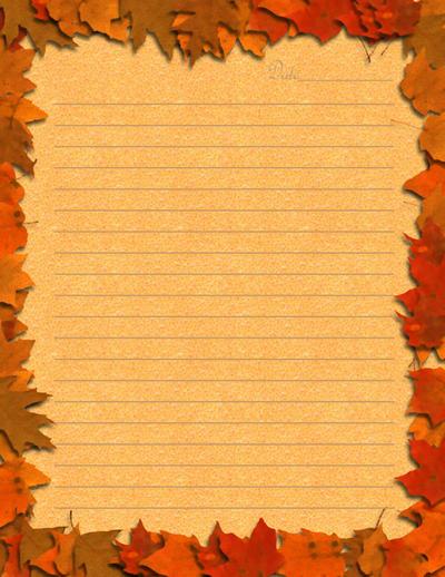 Autumn Stationary by MadameM