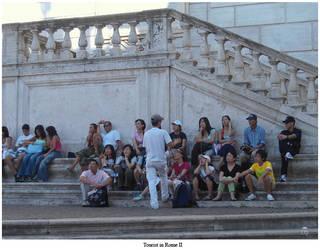 Tourist in Rome II by ninnicchio