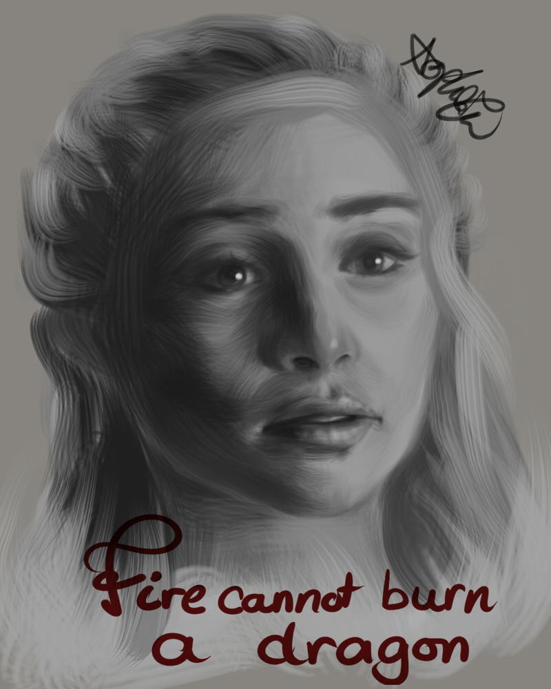 Fire cannot burn a dragon by McCuddly