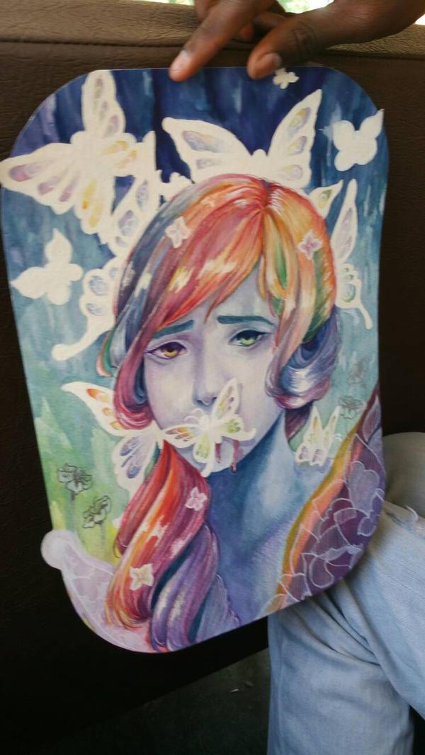butterflies by McCuddly