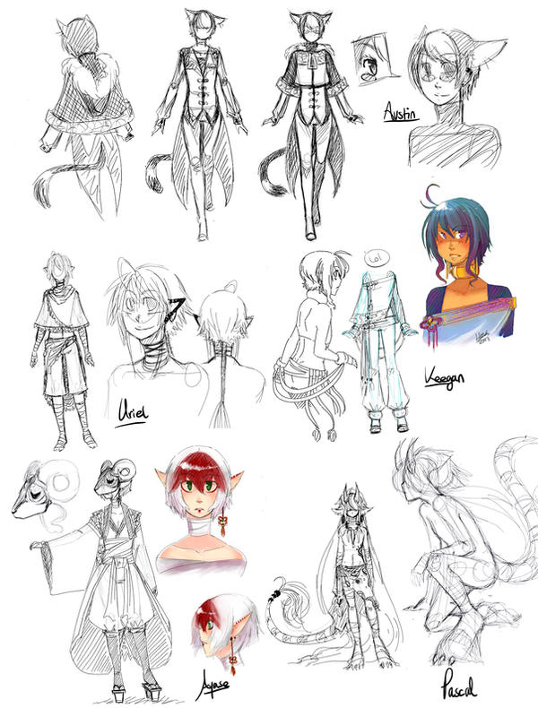 Design Clothes pchat Character Clothes Design