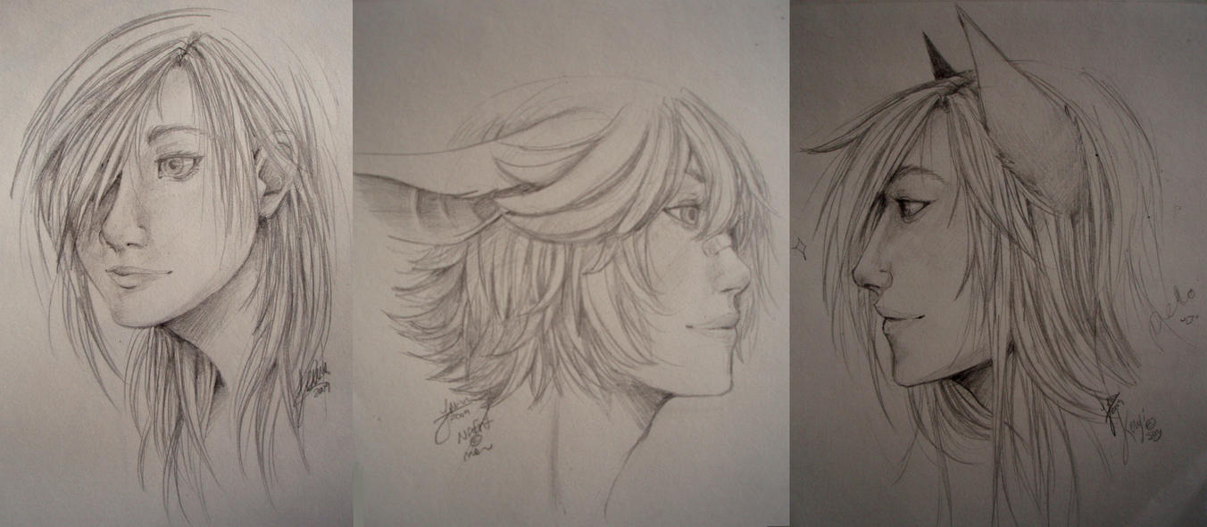 Realism Attempts by CookieHana