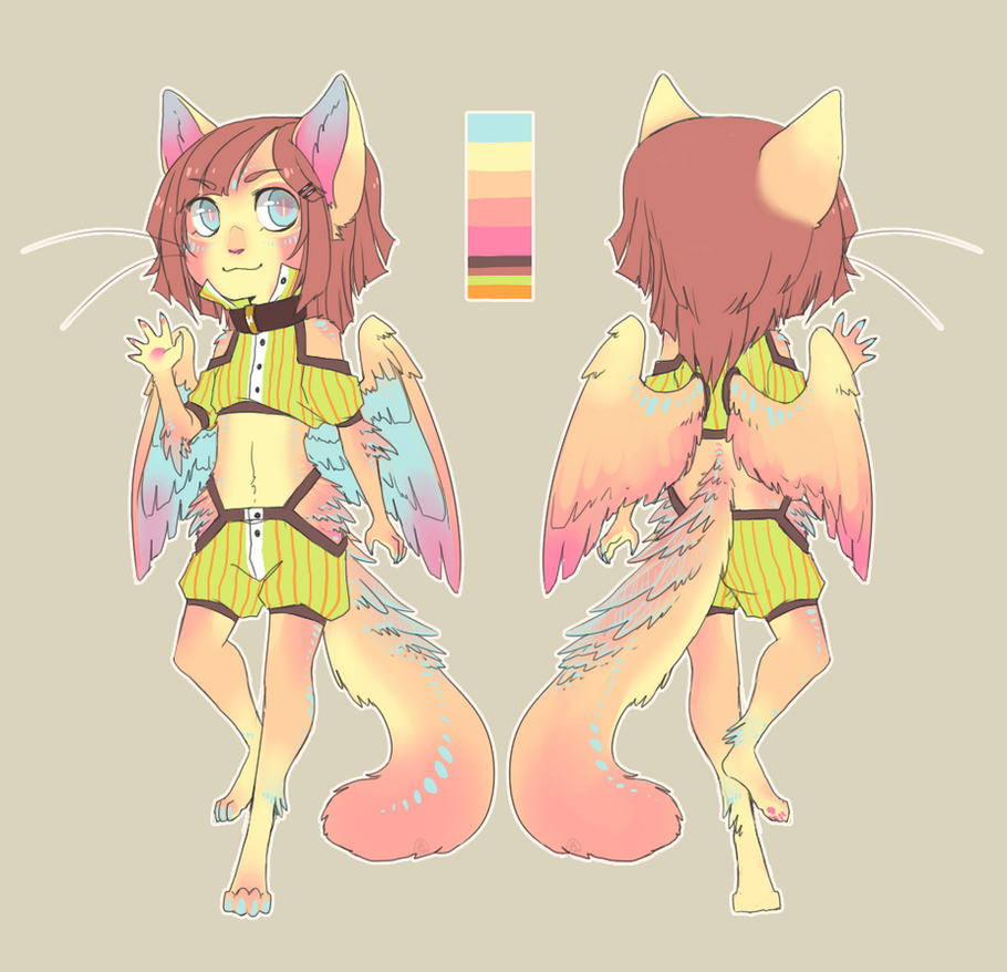 Character Design:mirandapaige by CookieHana