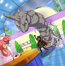 Pokemon Center by CookieHana