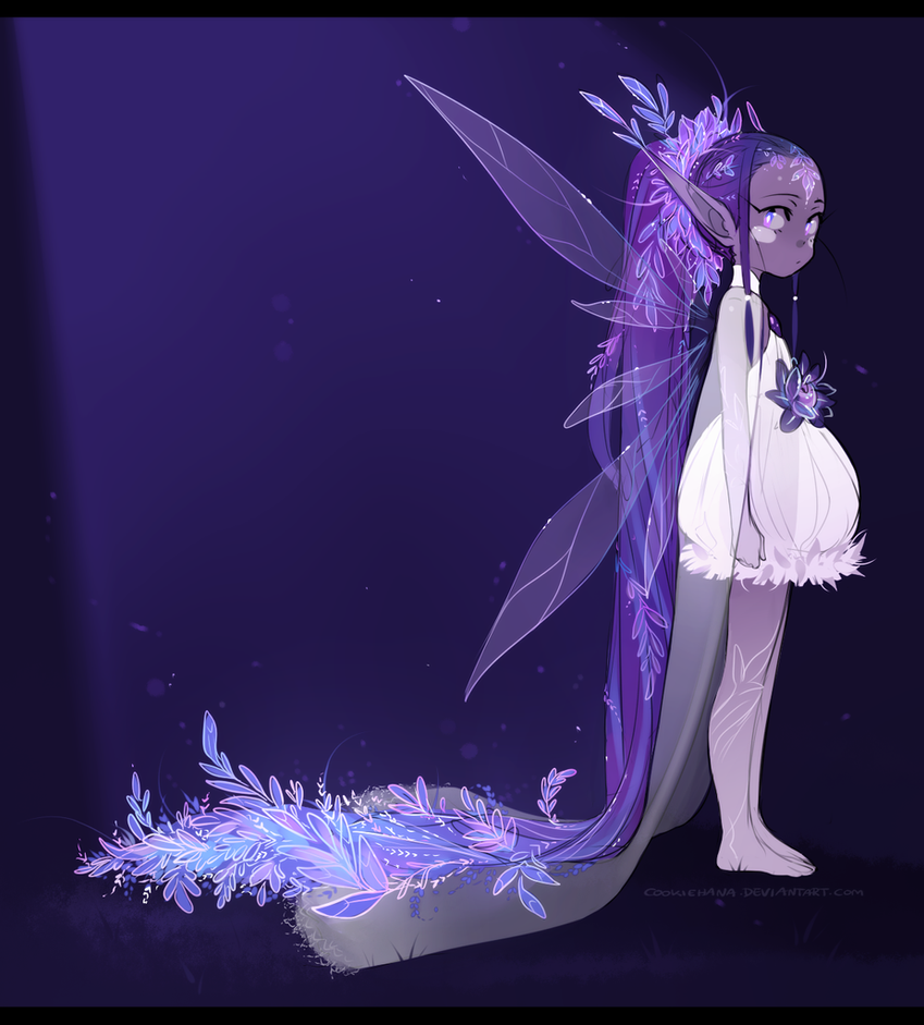 Mabi:: Shyllien Gijinka by CookieHana