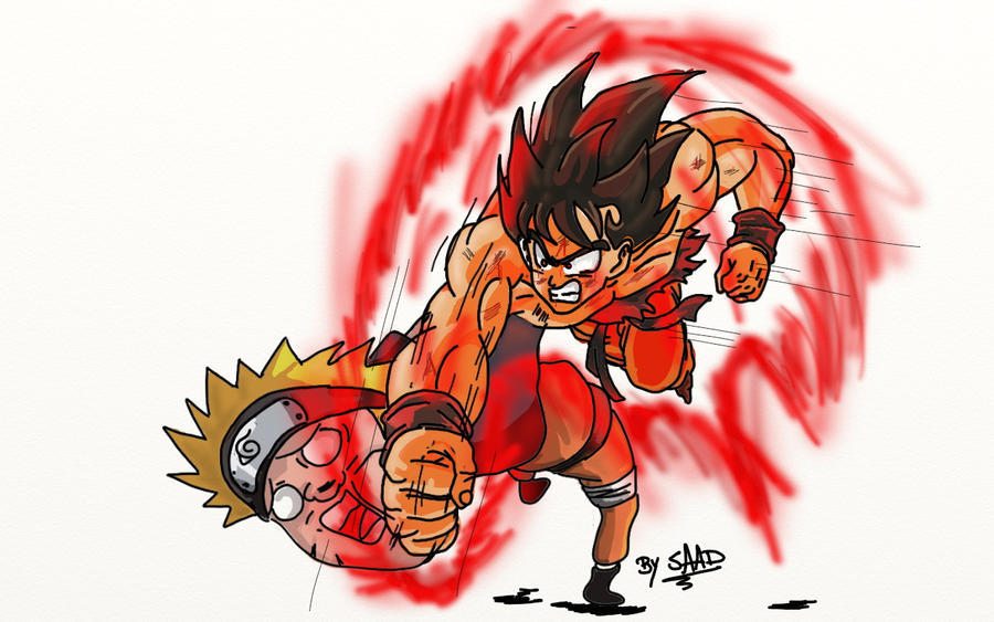 Son Goku Vs Naruto Uzumaki Quien seria el ganador en el foro