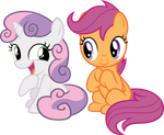 Sweetie and Scoots