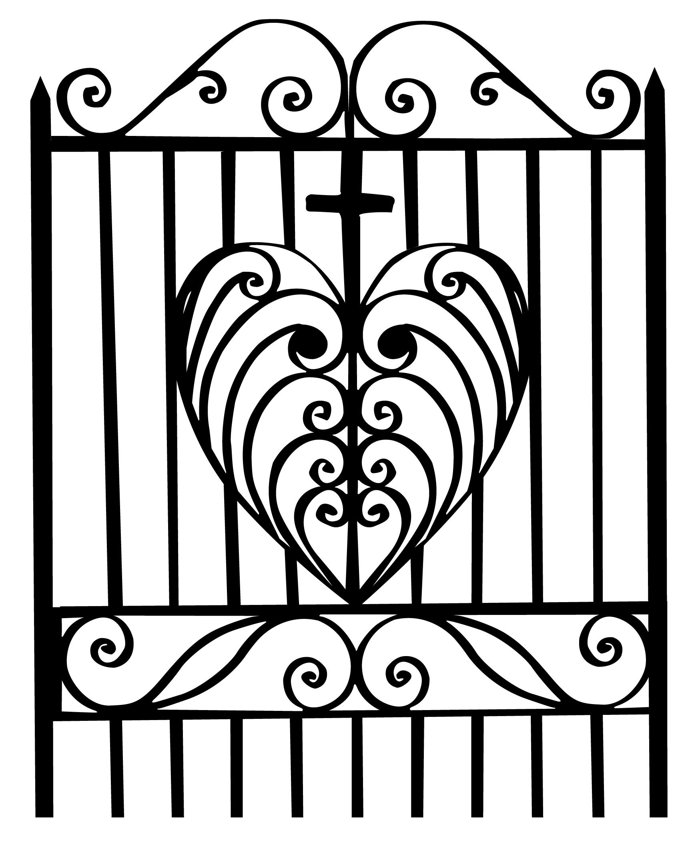Heart gate vector large by merrypranxter on deviantart