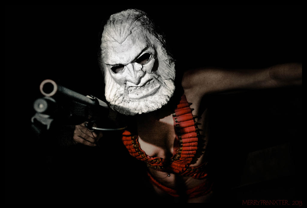 Zardoz Cosplay Shoot by merrypranxter