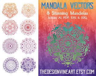 Mandala Vectors Artwork
