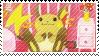 Raichu Stamp by corgisaurus