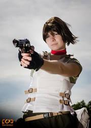 Rebecca Chambers cosplay by xDarkAngel90x