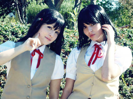 Tenma y Yakumo