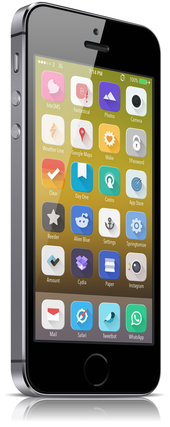 10 wallpapers for cydia winterboard theme aromy by chanxin