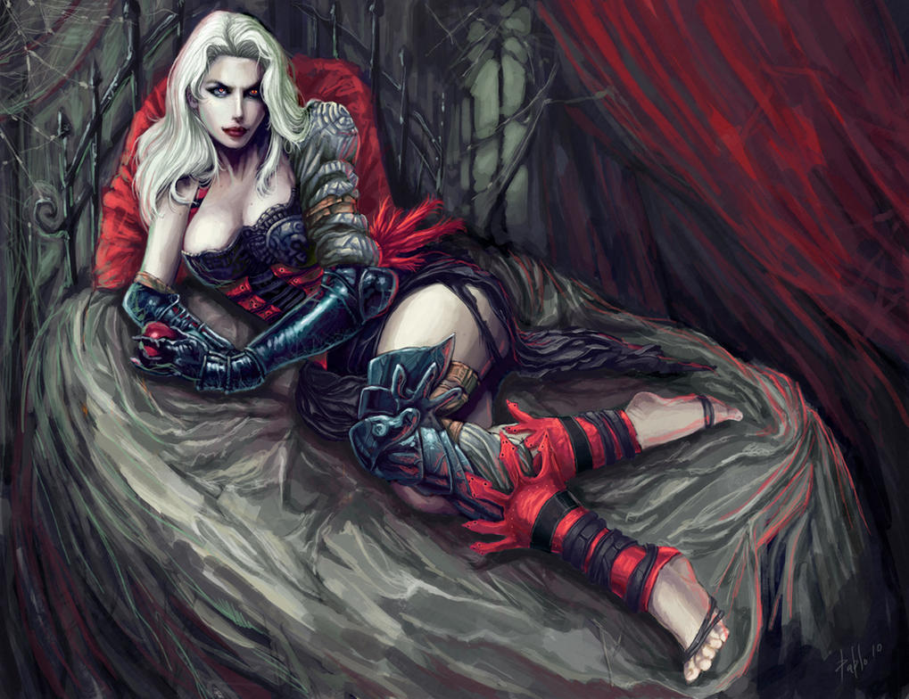 Hot female vampire art sex pics