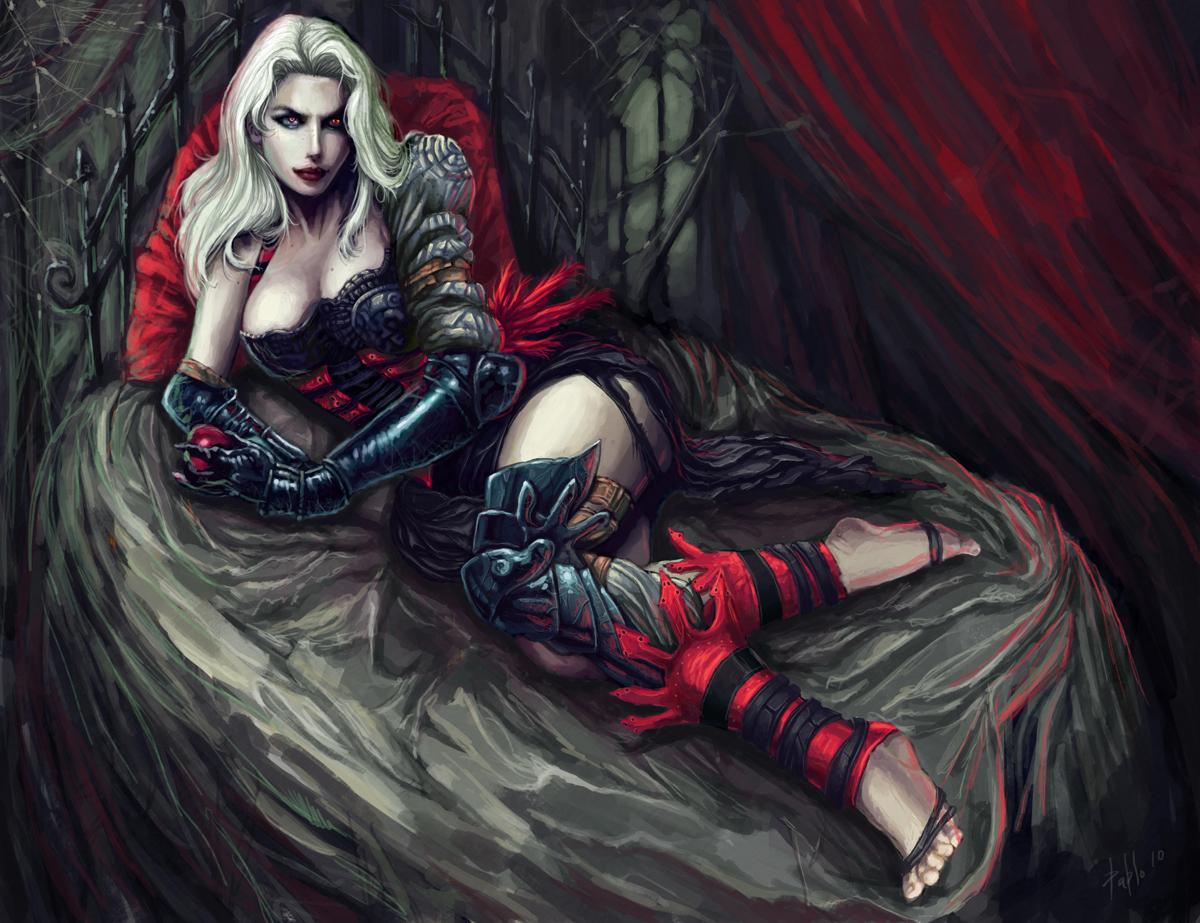 Vampire Queen By PabloFernandezArtwrk