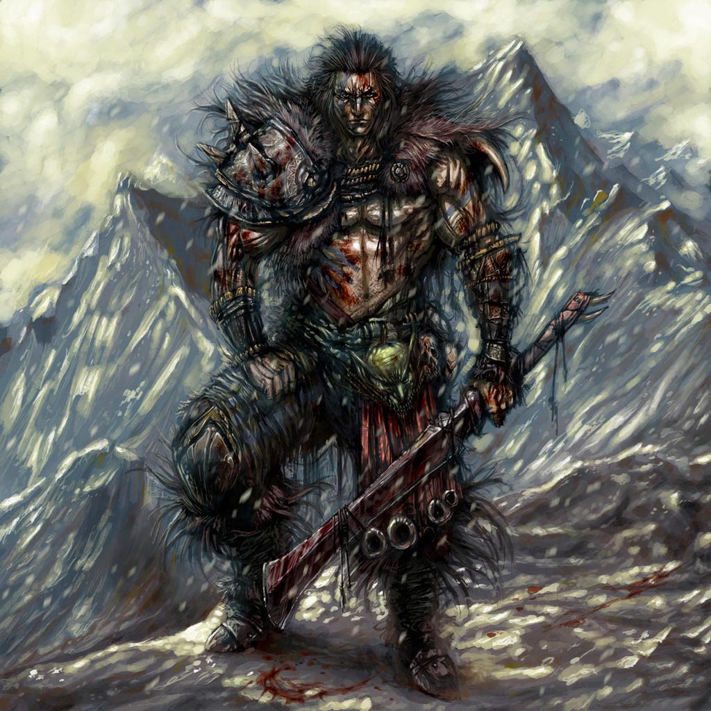 Barbarian Highlander by PabloFernandezArtwrk