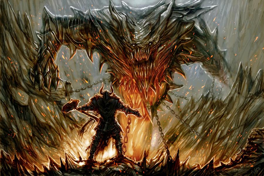 Epic Duel by PabloFernandezArtwrk