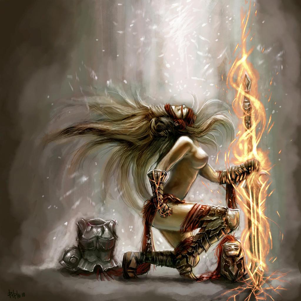 Favor of the Gods by PabloFernandezArtwrk