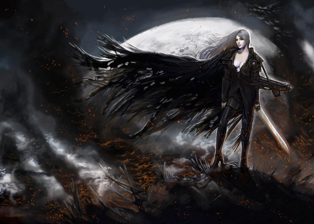 Night traveller by TheBastardSon