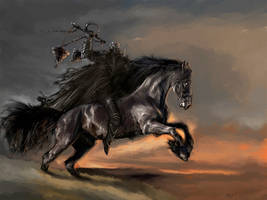The Horseman by PabloFernandezArtwrk