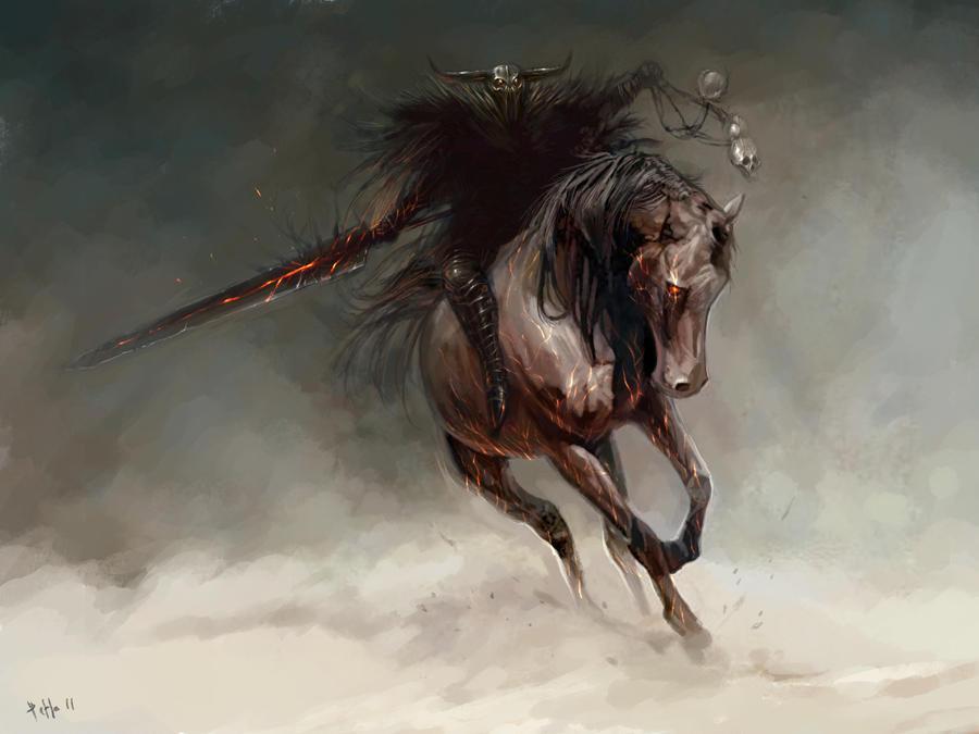 Horseman 2 by TheBastardSon