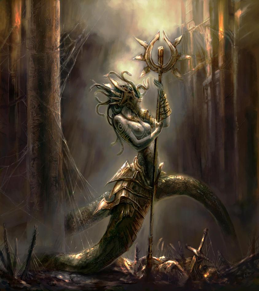 Medusa by TheBastardSon