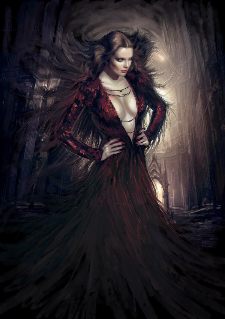 Vampire countess by PabloFernandezArtwrk