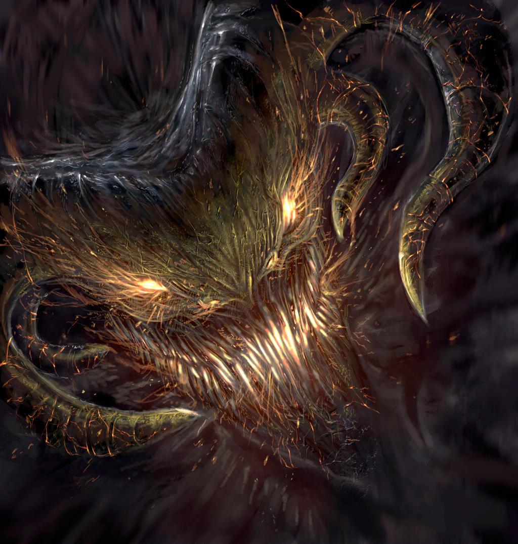 Demon by pablofernandezartwrk on deviantart for Domon pictures