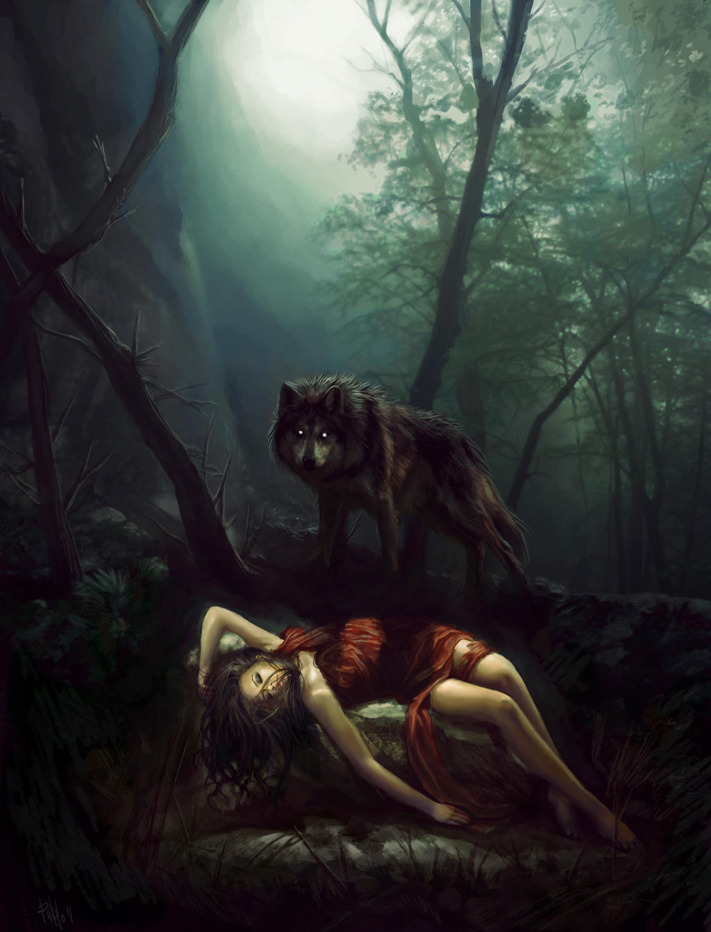 Red riding hood by PabloFernandezArtwrk