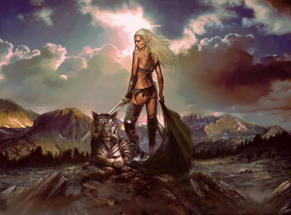 Freyja by TheBastardSon