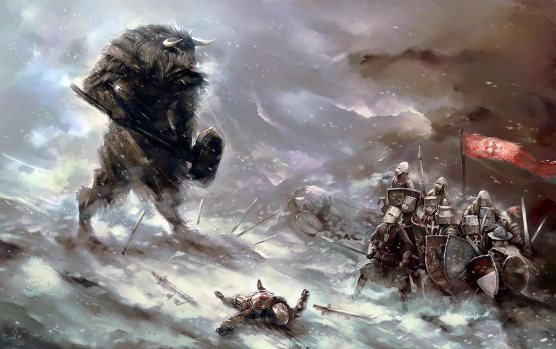 Minotaur by TheBastardSon