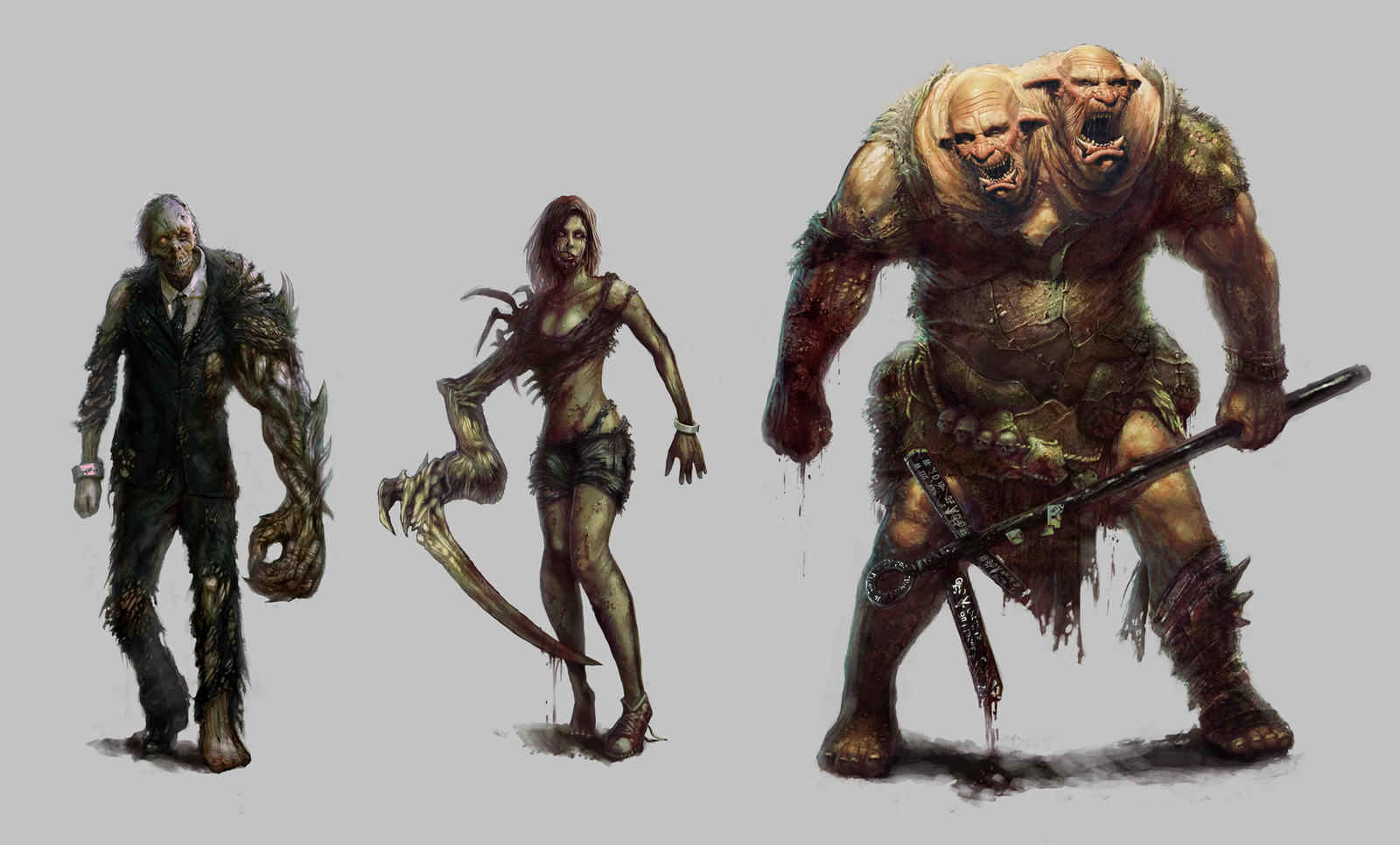 Urban Survivor : Character concepts 1 by TheBastardSon