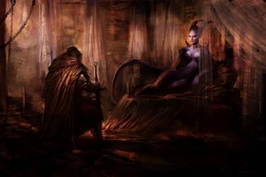 Dark Oath by PabloFernandezArtwrk