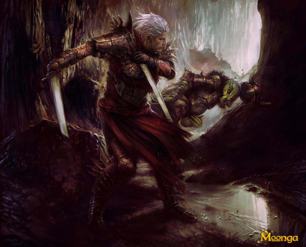Shadow warrior unleashed by PabloFernandezArtwrk