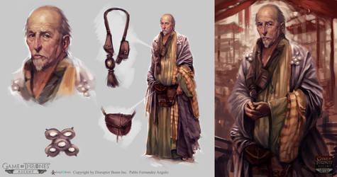 Game of Thrones:Ascent. NPC 01 by PabloFernandezArtwrk
