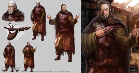 Game of Thrones:Acent. NPC 03 by PabloFernandezArtwrk